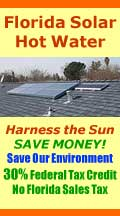 Solar Hot Water Heating systems for Florida and beyond.