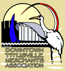 Downtown Titusville Merchants Association logo