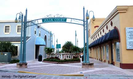 Julia Court - Downtown Titusville, Florida