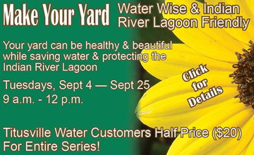Lecture series on Lagoon save lawns