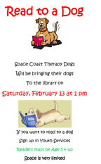 Titusville Library Read to a Dog