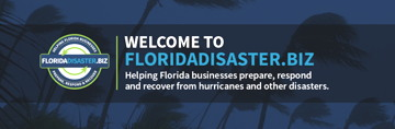 The State of Florida helps with disasters