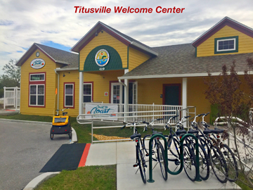 Discover Titusville's new Welcome Center