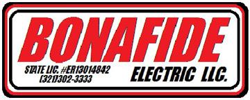 Bonafide Electric LLC - North Brevard, Mims, usville ... on mobile home meter panel, mobile home electrical pole, mobile home water meter fittings, mobile home meter socket,