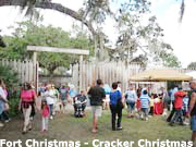 Cracker Christmas in Fort Christmas