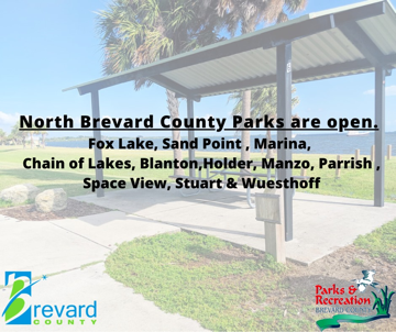 Parks are open for family activities.
