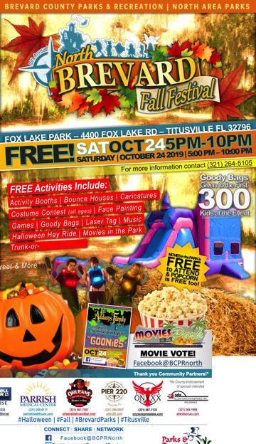 Halloween Trick Or Treat 2020 Titusville Fl Titusville, Florida   North Brevard Parks and Recreation Press
